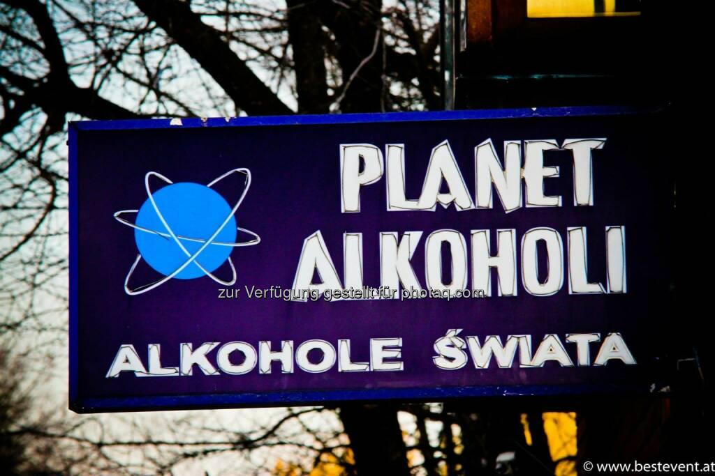 Warschau Alkohol, © Herbert Gmoser (25.12.2013)