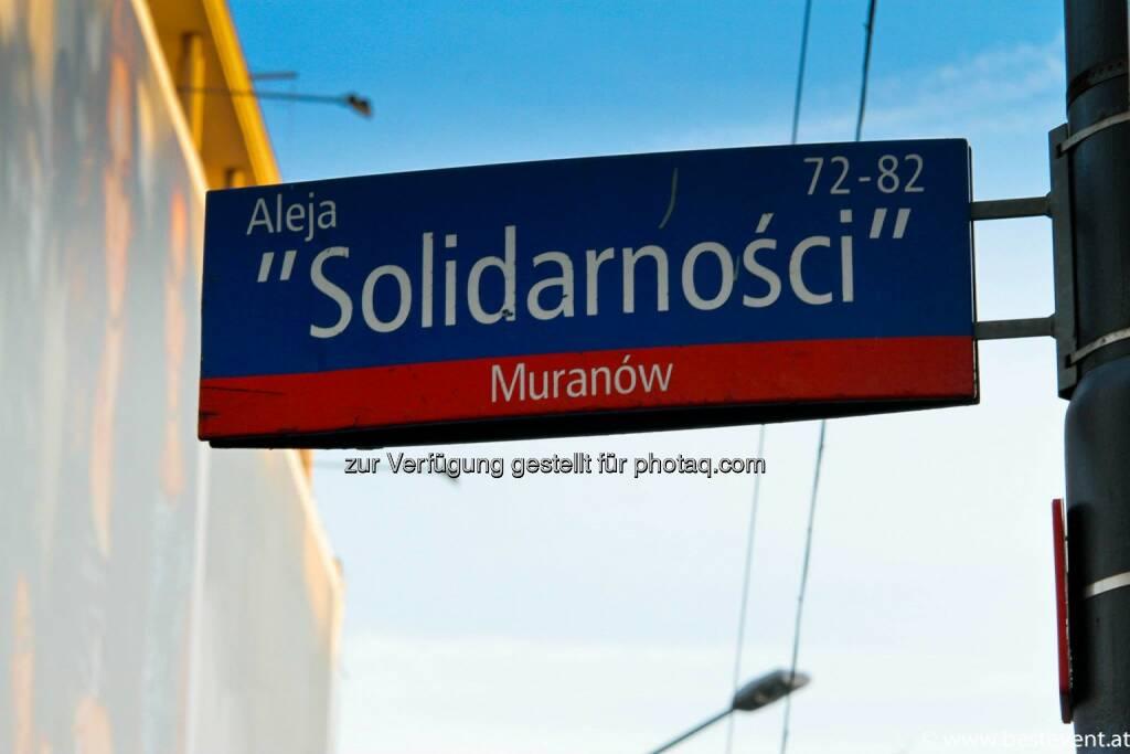 Warschau Solidarnosci, © Herbert Gmoser (25.12.2013)