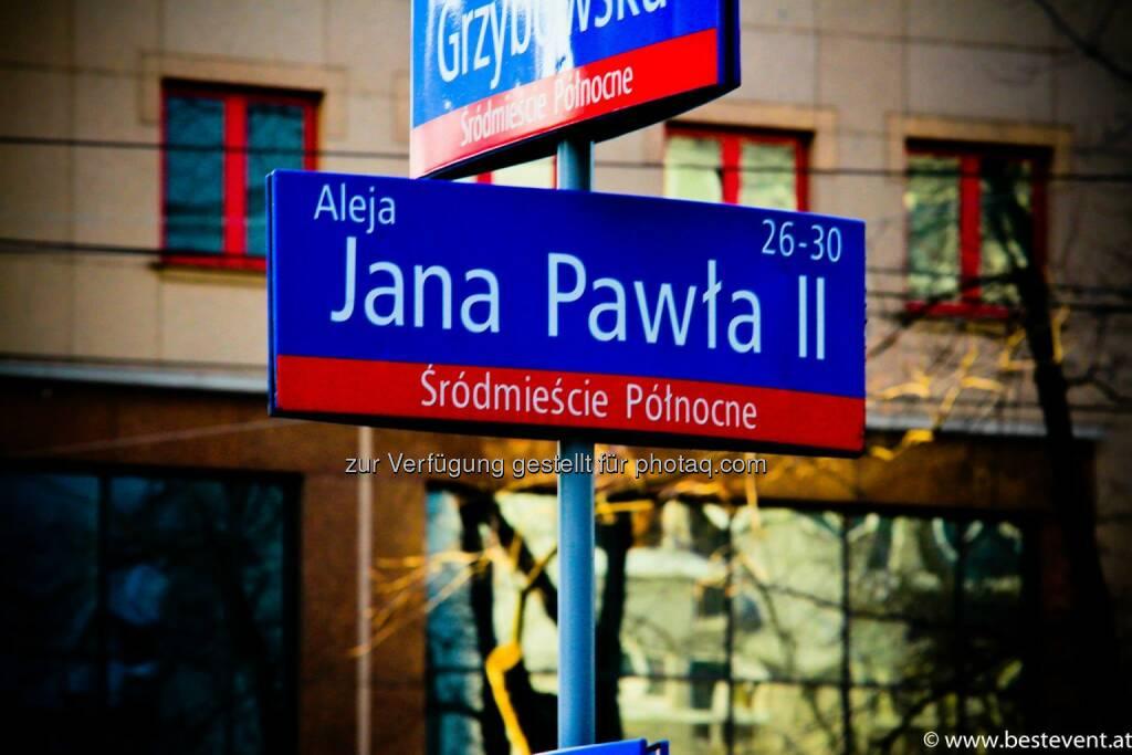 Warschau Jana Pawla II, © Herbert Gmoser (25.12.2013)