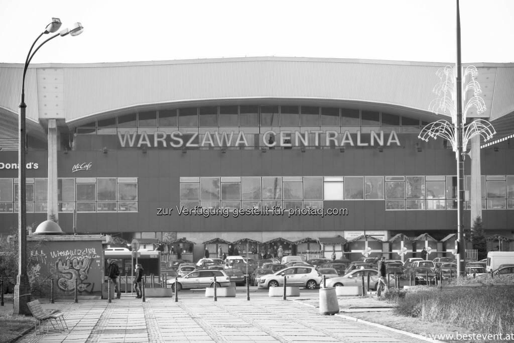 Warschau  Warszawa Centralna, © Herbert Gmoser (25.12.2013)
