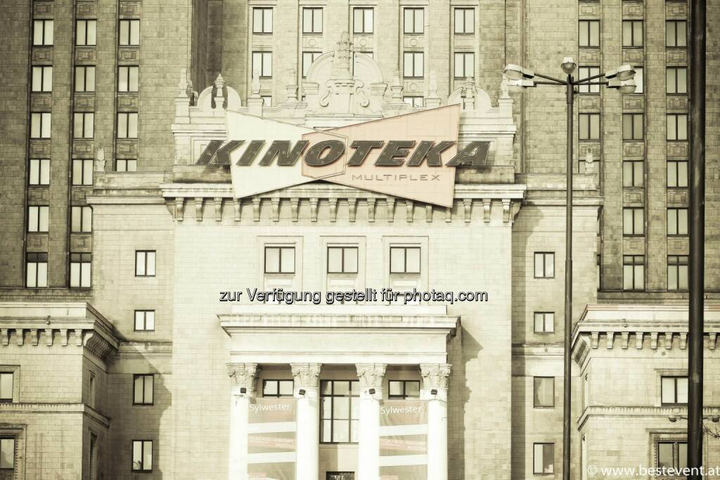 Warschau Kinoteka, © Herbert Gmoser (25.12.2013)