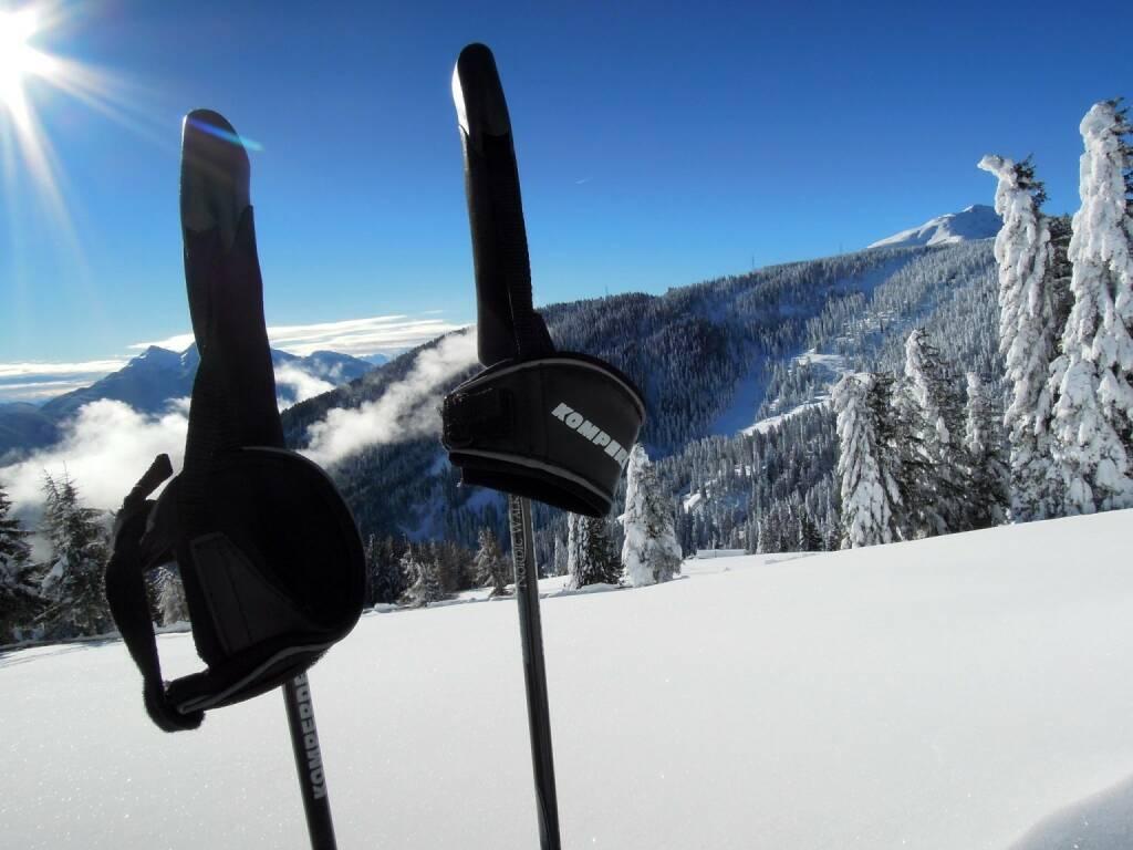 Skistecken, Vigljoch, Südtirol, © Peter Sitte (27.12.2013)