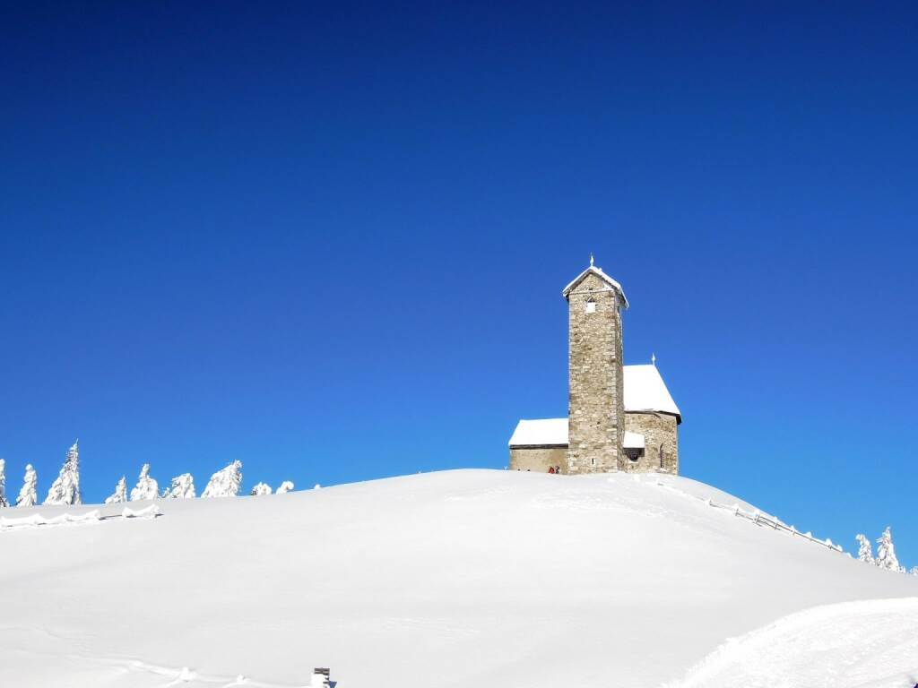 Kirche, Schnee, Vigljoch, Südtirol, © Peter Sitte (27.12.2013)
