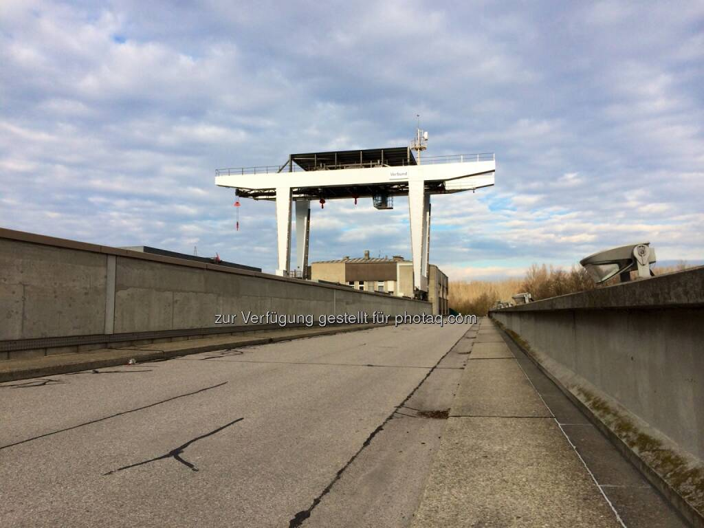 Verbund Kraftwerk Greifenstein, © Martina Draper (29.12.2013)