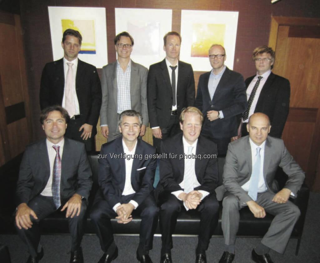 Werner Braunöck , Sven Thorén, Ulf Sedig, Per Ivarsson, Björn Österberg Matthias Knab, Renaud Huck, Carl Meurling, Oliver Prock (Salus Alpha) (15.12.2012)