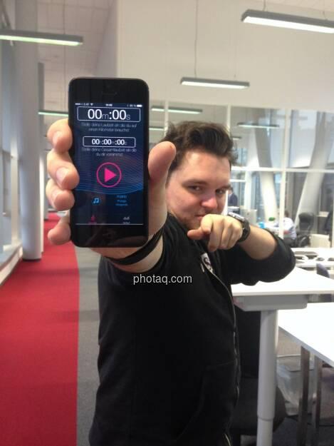 Runplugged in der Hand der Macher bei Tailored Apps (04.01.2014)