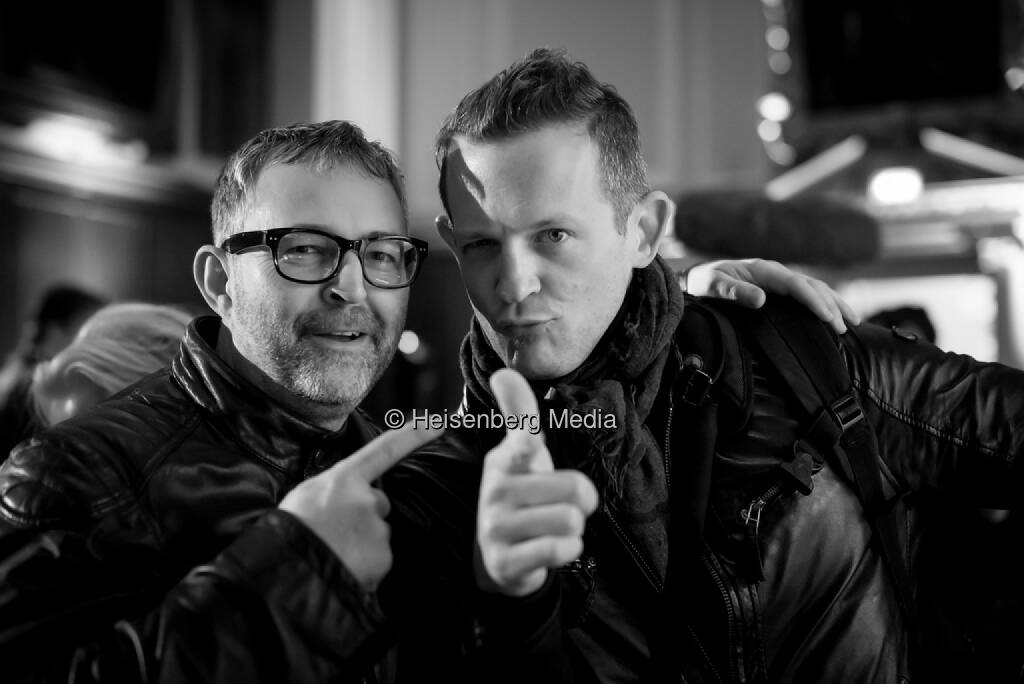 Mike Butcher and Dan Taylor – f.ounders – Dublin, Ireland, November 2, 2013, © Heisenberg Media (05.01.2014)