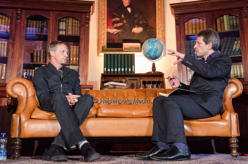 Tony Hawk and David Rowan – f.ounders – Dublin, Ireland, November 1, 2013, © Heisenberg Media (05.01.2014)