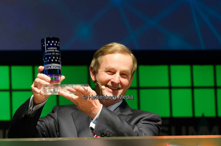 Enda Kenny – Irish Prime Minister / Taoiseach – The Summit – Dublin, Ireland,October 30, 2013
