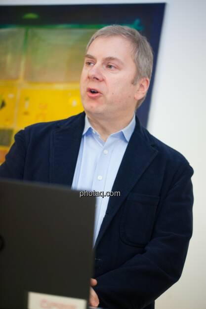 Werner Raza (ÖFSE), © finanzmarktfoto.at/Michaela Mejta (08.01.2014)