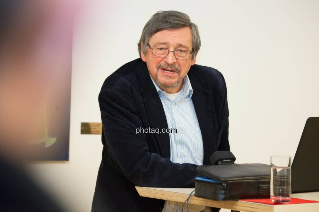 Peter Wahl (WEED), © finanzmarktfoto.at/Michaela Mejta (08.01.2014)