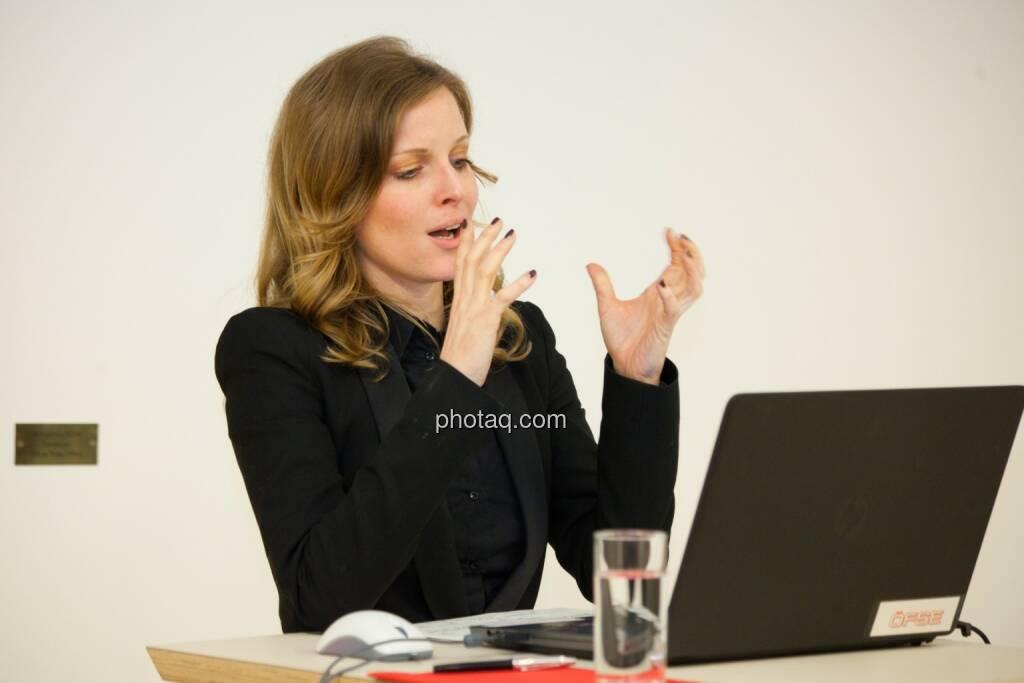 Miriam Broucek (FMA), © finanzmarktfoto.at/Michaela Mejta (08.01.2014)