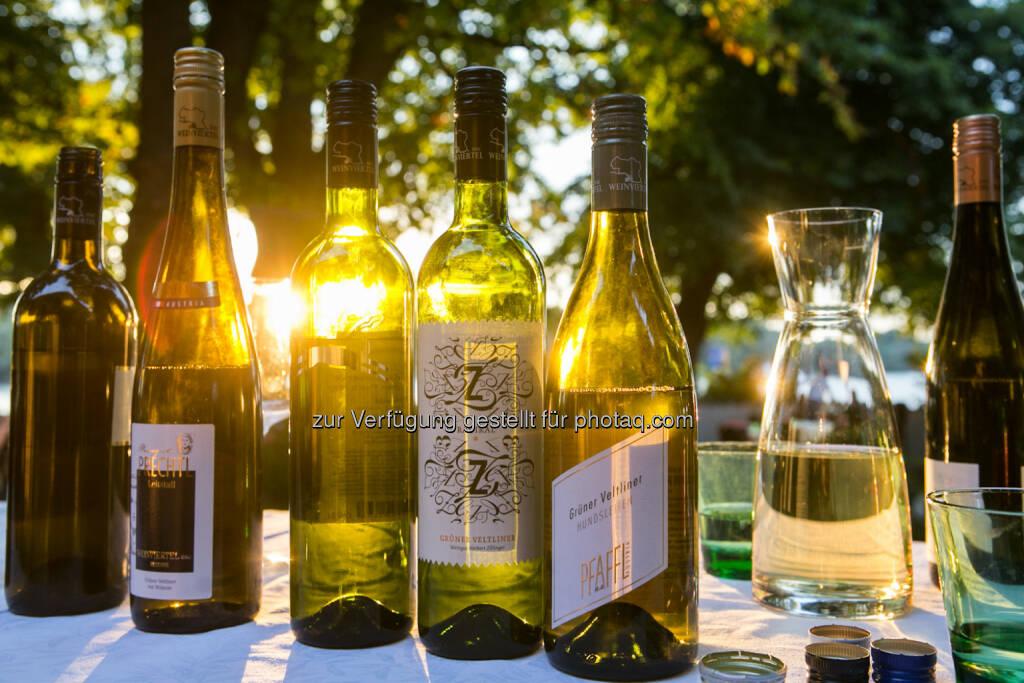 Weinflaschen, © Martina Draper (10.01.2014)