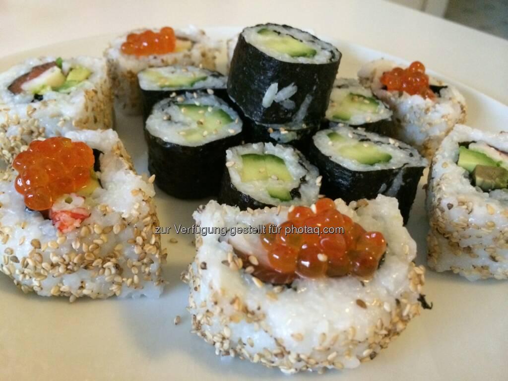 Sushi, © Martina Draper (10.01.2014)