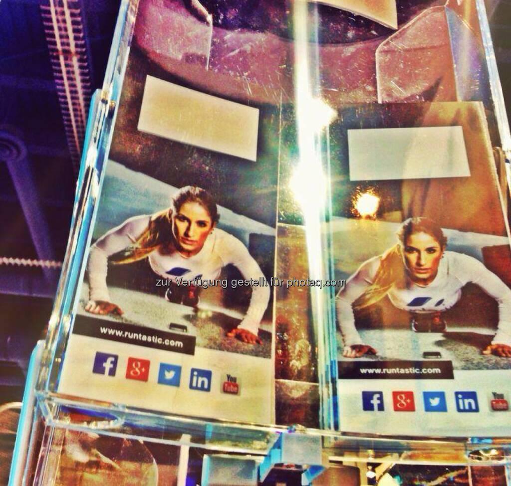 Runtastic auf der CES 2014 in Las Vegas, © Runtastic (11.01.2014)