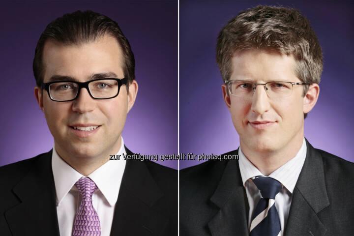 Clemens Philipp Schindler und Martin Abram (Wolf Theiss) haben das IT-Unternehmen RapidMiner beim Einstieg von Earlybird und Open Ocean Capital beraten (Bild: Wolf Theiss)