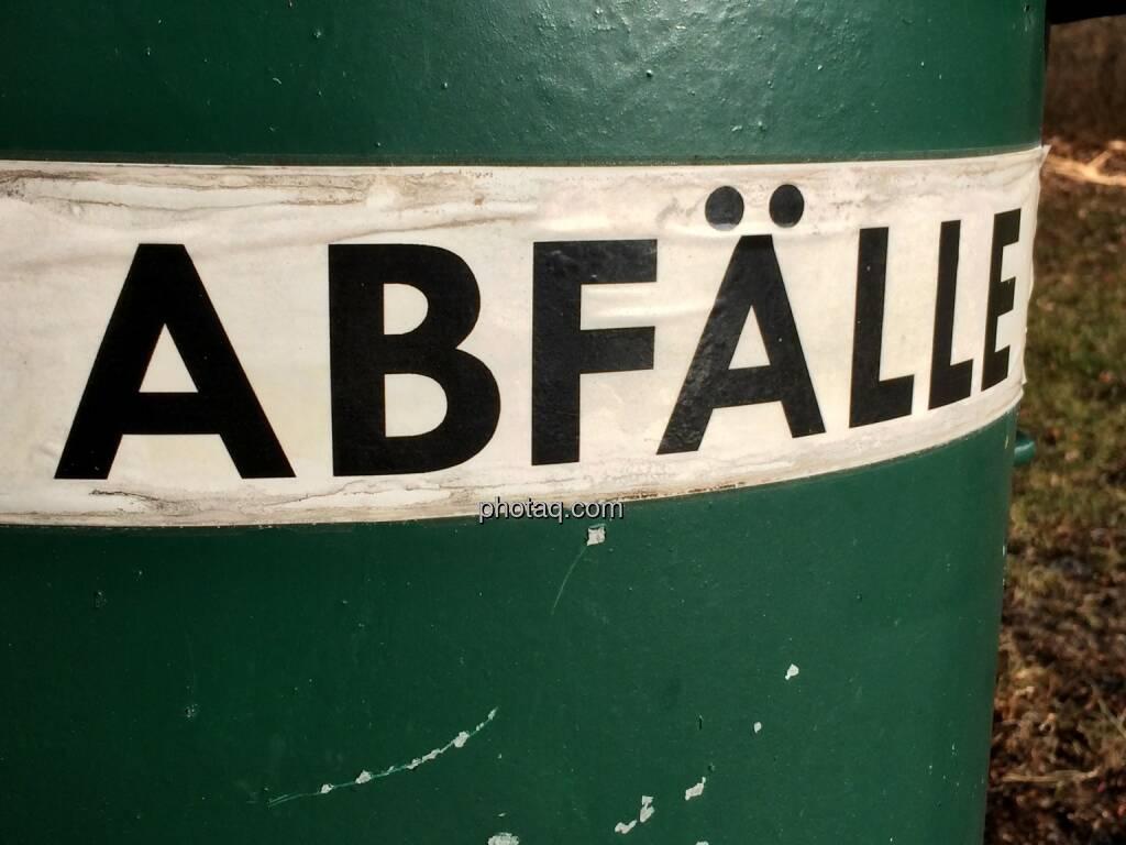 Abfall, Mist (13.01.2014)