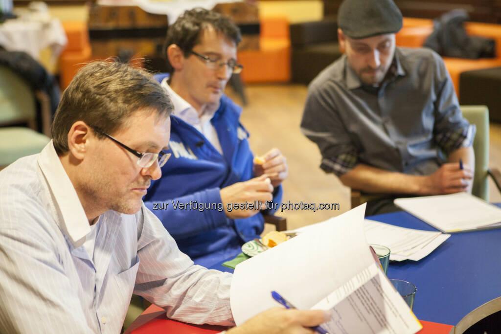 Rinaldo Wurglitsch (IQ Soft), Paul Blažek (cyLedge Media), Mario Kraussler (Tripenta), © Tripenta / Peinhaupt (13.01.2014)