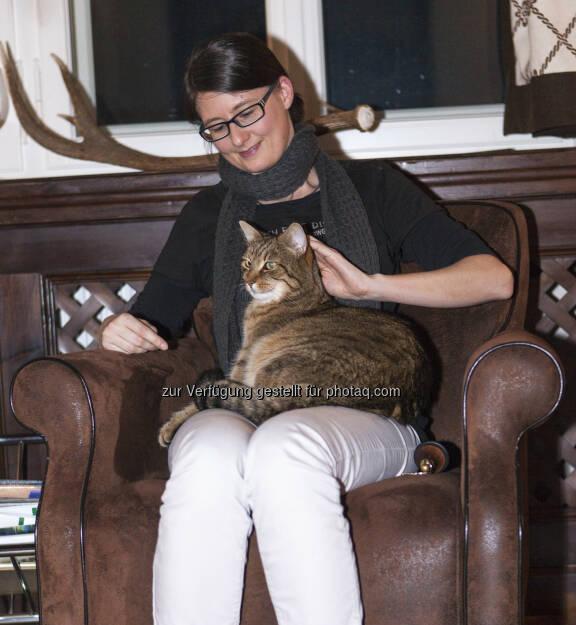 Susanne Trhal (Team Sisu), Katze, © Tripenta / Peinhaupt (13.01.2014)