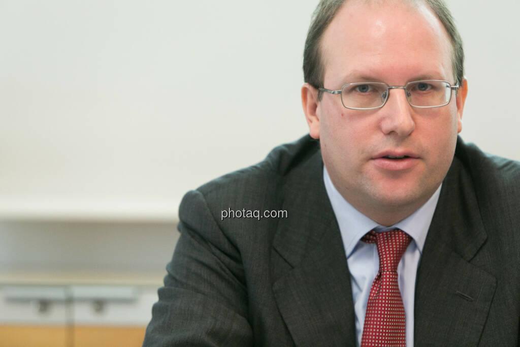 Florian Nowotny, Finanzvorstand der  CA Immo (CFO), © finanzmarktfoto.at/Martina Draper (14.01.2014)