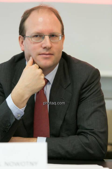 Florian Nowotny, Finanzvorstand der  CA Immo (CFO)