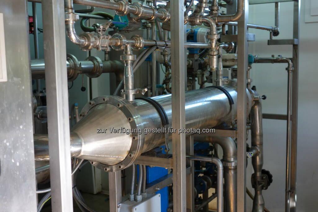 Grüne Bioraffinerie Pilotanlage zur Herstellung von Aminosäuen (c) gruene-bioraffinerie.at GmbH (15.01.2014)