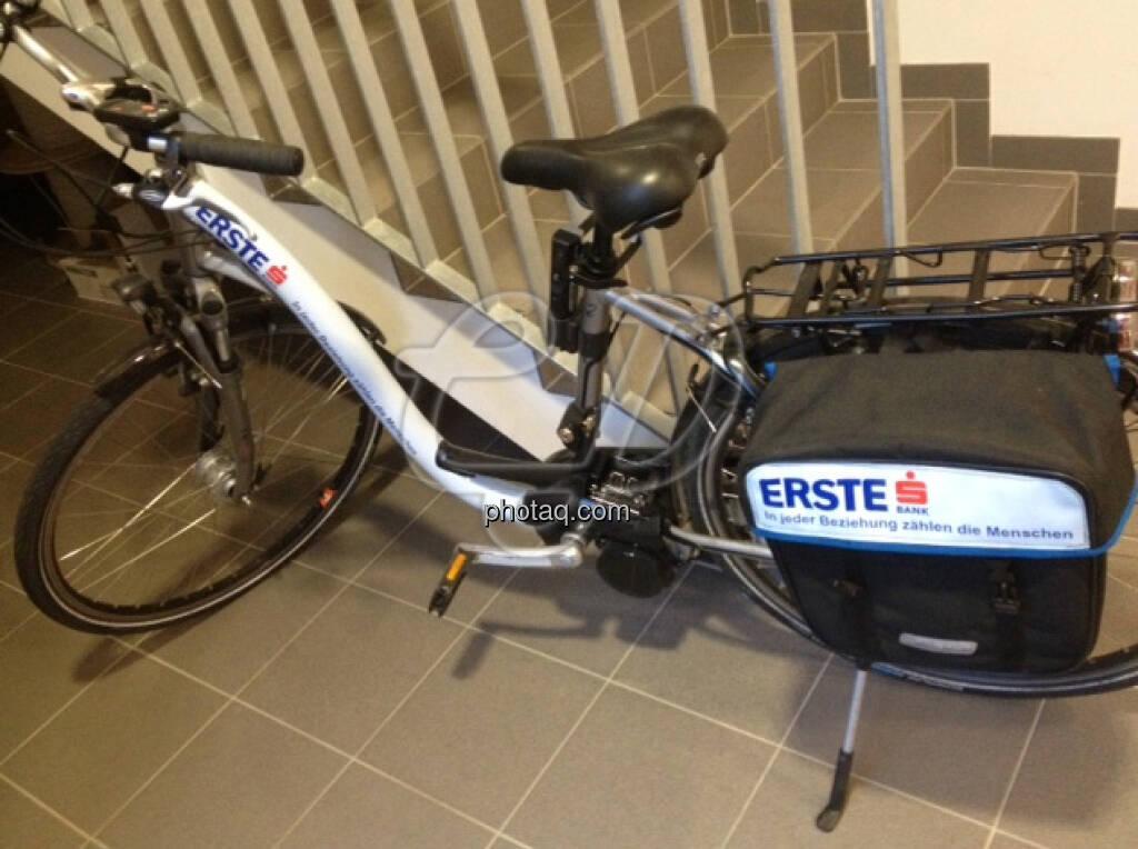 Fahrrad Erste Bank (15.12.2012)