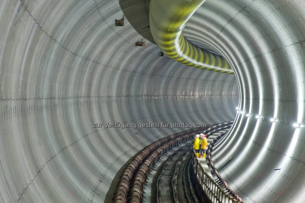 Porr erhält drei Baulose im Wiener U-Bahn-Netz im Gesamtwert von EUR 68 Mio- Wiener Linien setzen erneut auf Infrastrukturkompetenz des österreichischen Baukonzerns (c) Porr (16.01.2014)
