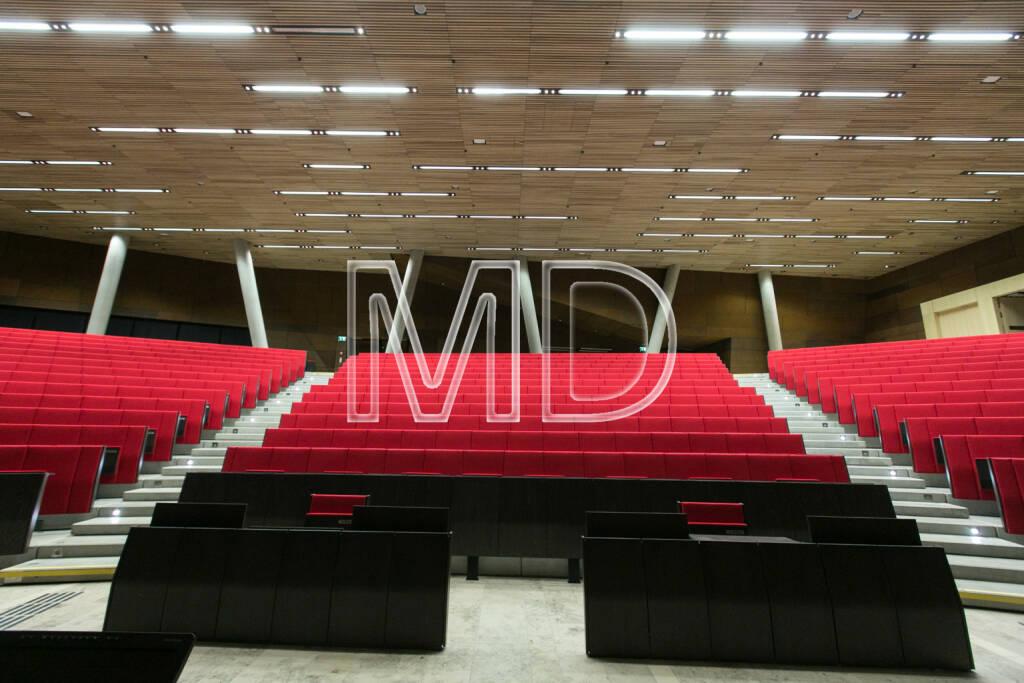 Audimax, WU Campus Wien, © Martina Draper (16.01.2014)
