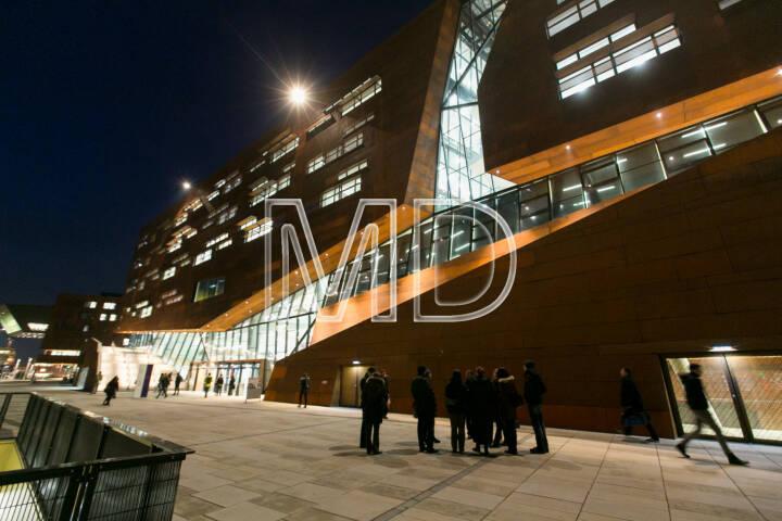 WU Campus Wien, Aussenansicht