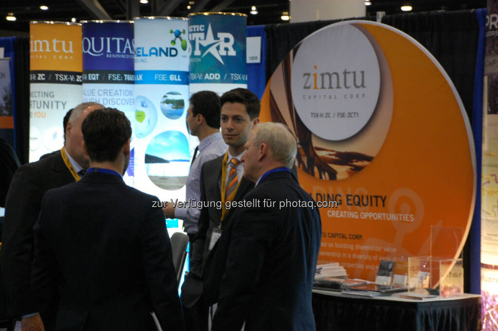 Booth 1203 - Zimtu Capital Corp., © Zimtu Capital Corp. (20.01.2014)