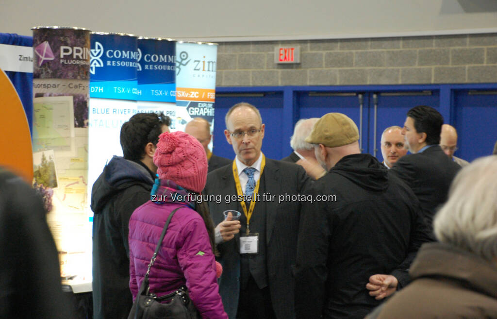 Chris Grove of Commerce Resources Corp. at the 2014 Vancouver Resource Investment Conference, © Zimtu Capital Corp. (20.01.2014)