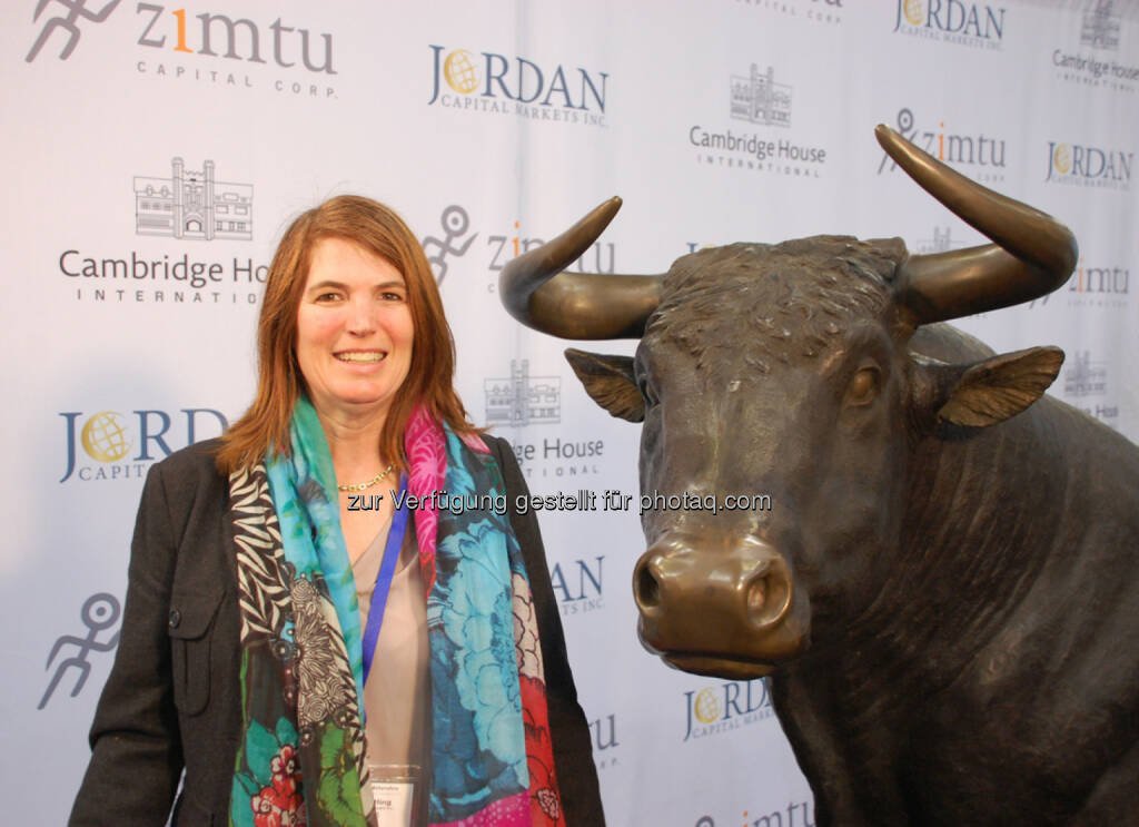 Let The Bull Run - Julie Catling of Richardson GMP (Vancouver), © Zimtu Capital Corp. (20.01.2014)