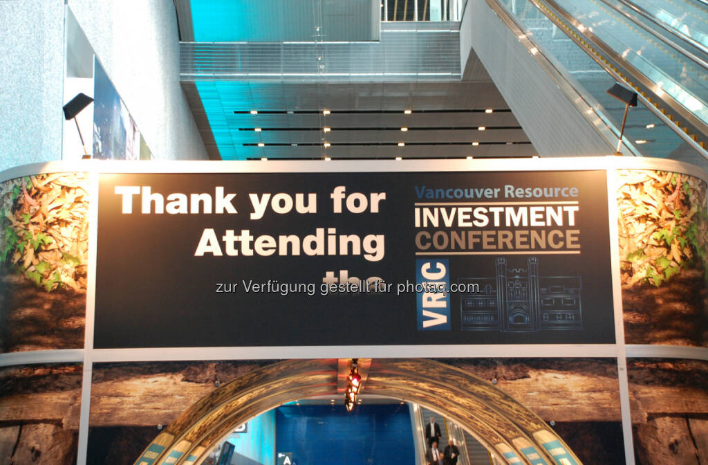Thank you for attending the Vancouver Resource Investment Conference, © Zimtu Capital Corp. (20.01.2014)