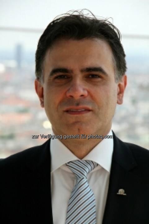 Zoran Visnjic, Mitglied des Vorstands, Uniqa International AG: In Serbien hat Uniqa das 3. Quartal 2013 mit einem Marktanteil von 7,3 Prozent abgeschlossen. Damit konnte Uniqa Serbien das größte Wachstum der fünf größten Versicherungen des Landes verzeichnen (c) Uniqa