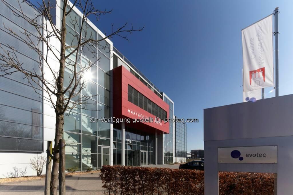 Evotec Firmenzentrale Hamburg, © Evotec (Jänner 2014) (20.01.2014)