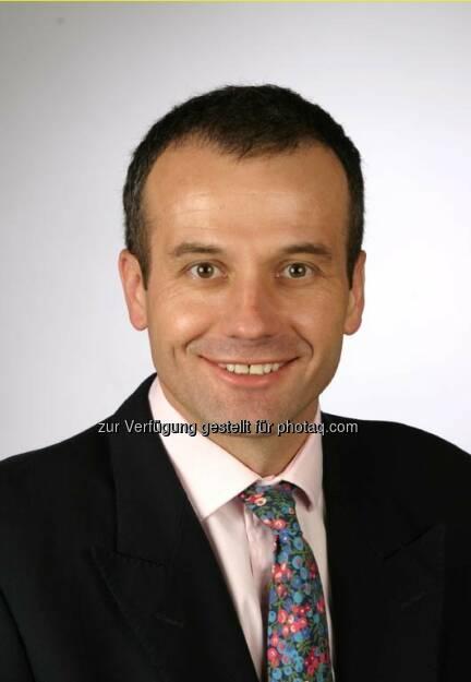 Colin Bond, Chief Financial Officer, Evotec, © Evotec (Jänner 2014) (20.01.2014)