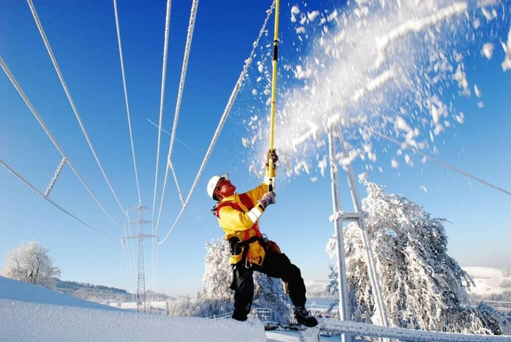 EVN sorgt für Schnee (20.01.2014)