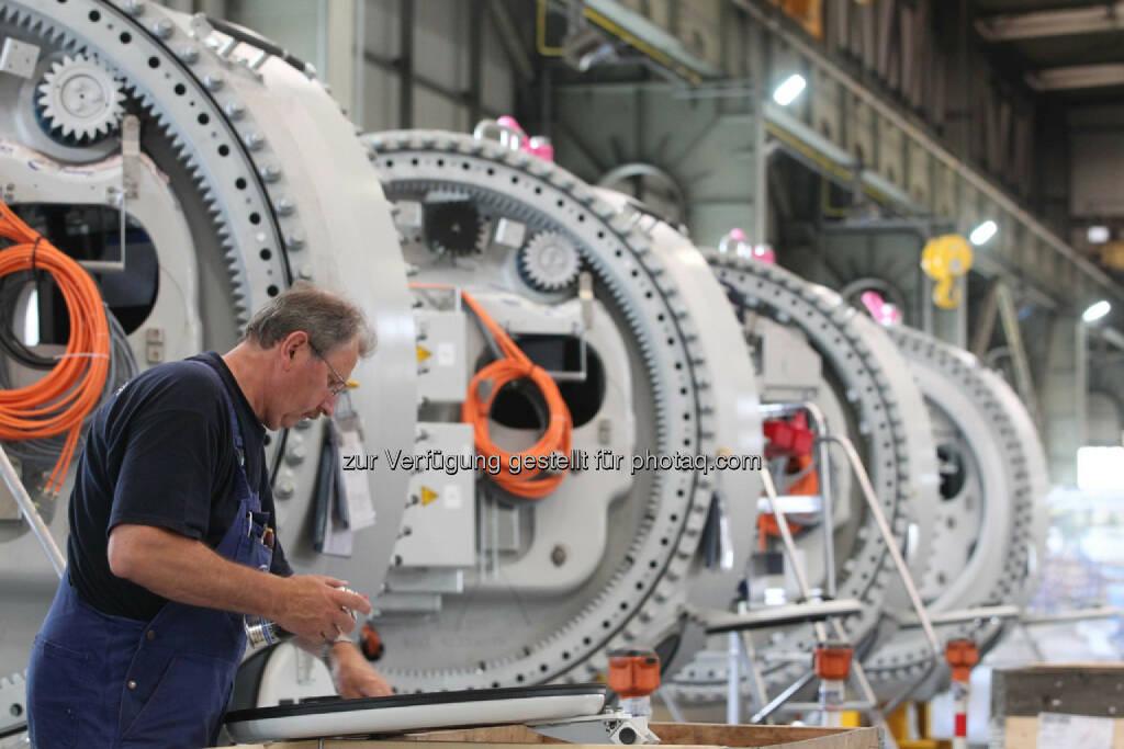 Produktionsanlage, © Nordex SE  (21.01.2014)