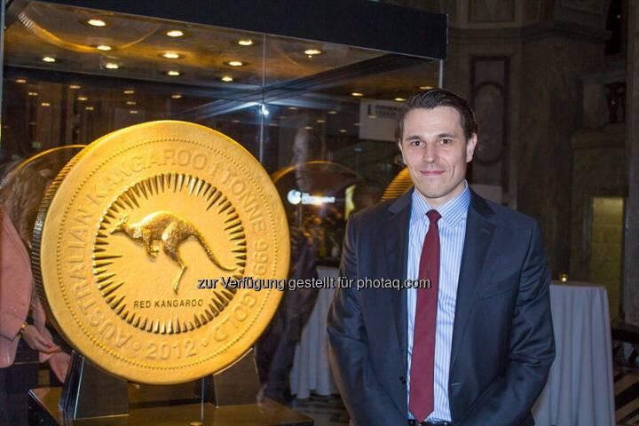 Philoro-Chef Rudolf Brenner: Preview Night of Gold, mit der grössten Goldmünze der Welt