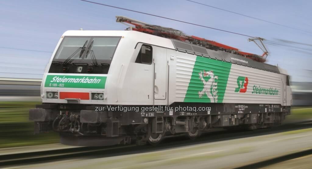 Steiermarkbahn erhält zweite Siemens-Mehrsystemlokomotive. Diese Lok dient als einstweilige Vertretung für die bestellte Mehrsystemlokomotive der Baureihe 1216 (Eurosprinter oder Taurus). Damit verfügt der steirische Bahnbetreiber ab sofort über eine zweite leistungsfähige Mehrsystemlokomotive (Bild: Siemens)  (22.01.2014)