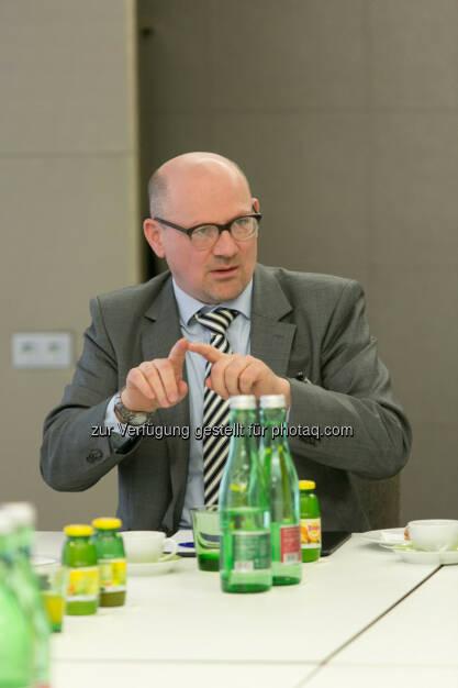 Josef Mayer (Leiter der Immofinanz-Rechtsabteilung), © Martina Draper für Immofinanz (22.01.2014)