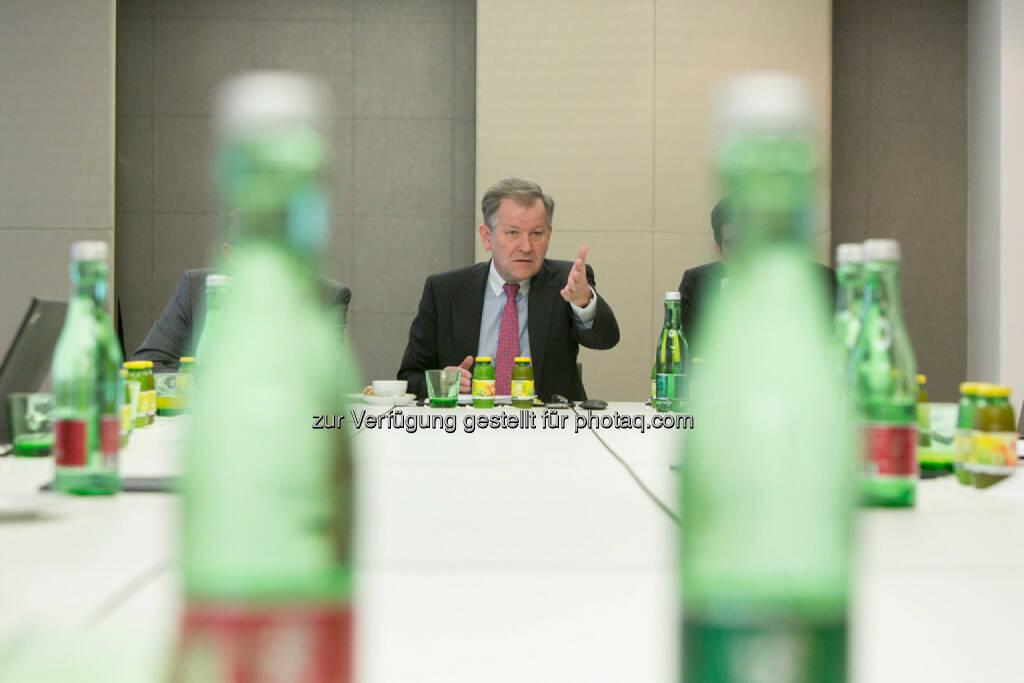 Eduard Zehetner (CEO Immofinanz), © Martina Draper für Immofinanz (22.01.2014)