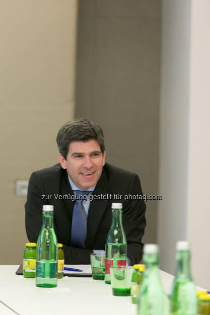 Stefan Frömmel (Vorstand Aviso Zeta), © Martina Draper für Immofinanz (22.01.2014)