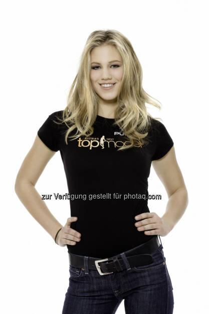 Larissa Marolt - aktuell omnipräsent in allen Medien durch ihren aufsehenerregenden Auftritt bei der deutschen Reality-Show Ich bin ein Star – Holt mich hier raus! - hat ihren Werdegang bei Puls 4 begonnen. Larissa ist die Siegerin der ersten Staffel des Erfolgsformats Austria's next Topmodel. (c) Gerry Frank (24.01.2014)