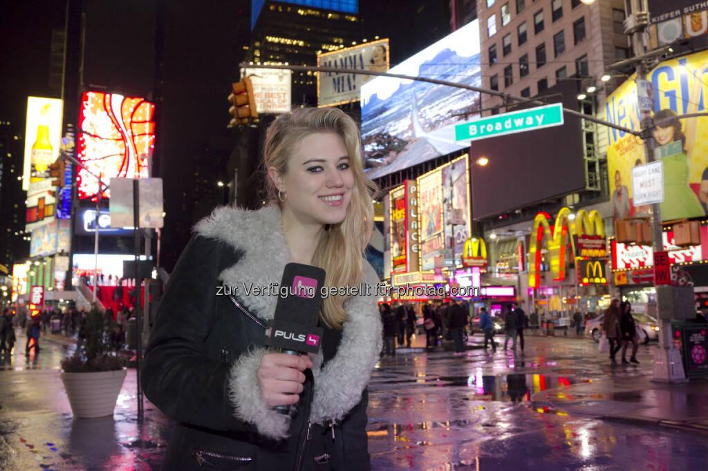 Larissa Marolt - Verrückt oder genial – wie Larissa Marolt wirklich tickt, sehen die ZuschauerInnen bei den besten Szenen und Highlights seit Larissas TV-Start im Jahr 2009 – exklusiv auf Puls 4. (c) Puls 4/Gerry Frank (24.01.2014)