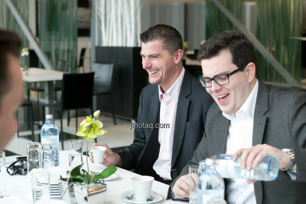 Franz Ömer (bet-at-home.com), Klaus Fahrnberger (bet-at-home.com), © finanzmarktfoto.at/Martina Draper (24.01.2014)