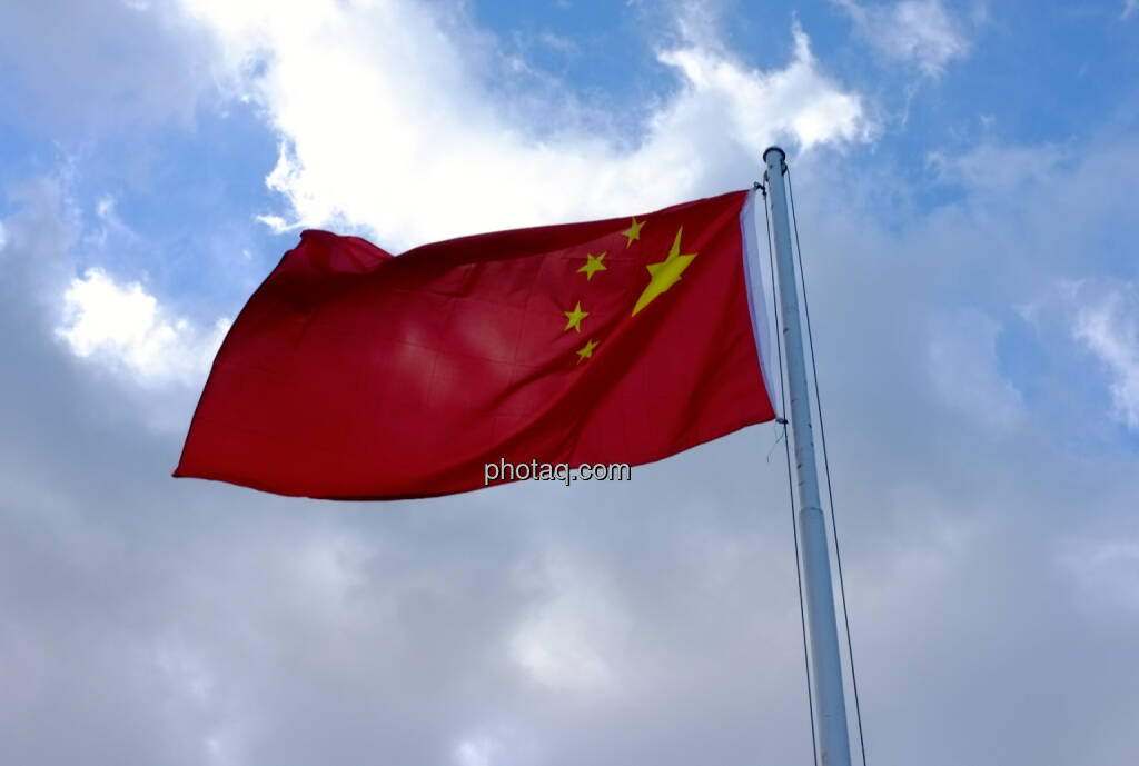 China Flagge (25.01.2014)