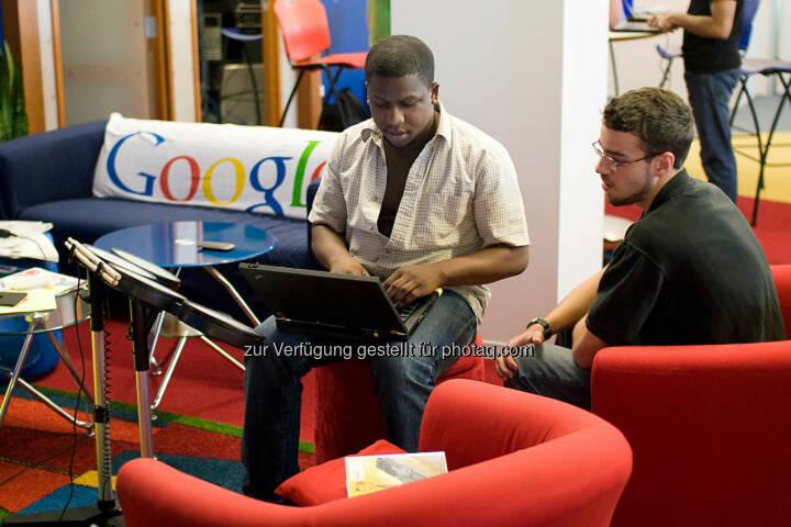 Technikecke in Chicago, Google
