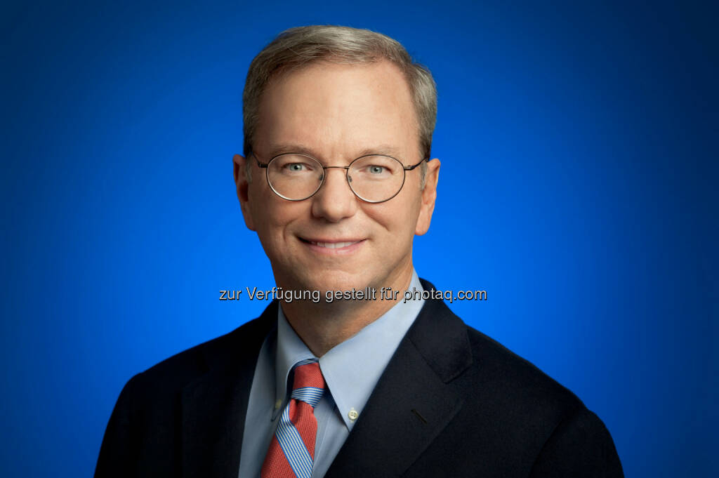 Eric Schmidt, Executive Chairman, CEO Google (C) Weinberg-Clark Photography, © Google (Homepage) (25.01.2014)